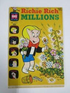 RICHIE RICH MILLIONS #37 (Harvey,9/1969) VERY GOOD  (VG)