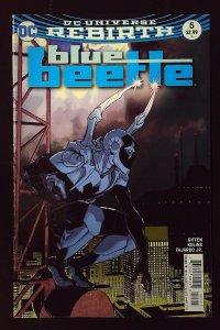 Blue Beetle #5 Variant Cover by C. Hamner (2017)