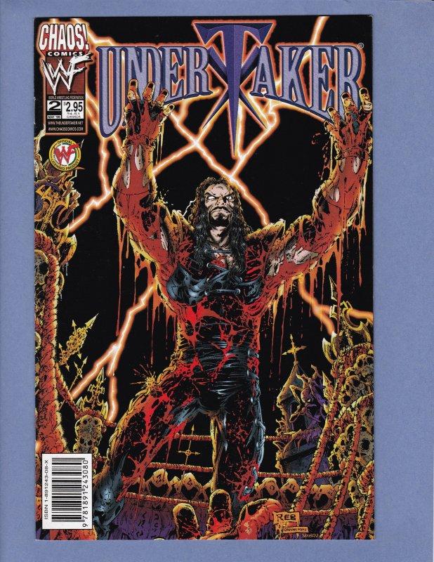Undertaker Lot #2 #3 #8 #10 Halloween Special #1 Variants Chaos Comics