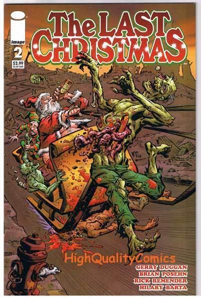 LAST CHRISTMAS #2, NM+, Zombies, Horror, Remender, 2006, Merry Xmas