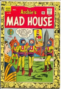 Archie's Mad House #44 1965-Capt Sprocket-sci-fi pin-up cover-VG/FN