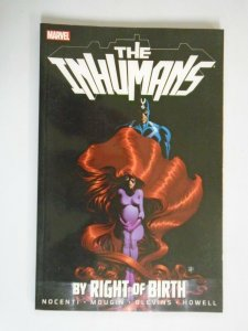 Inhumans By Right of Birth TPB #1 6.0 FN (2013)