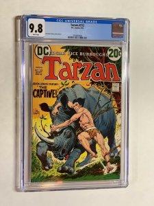 Tarzan 212 cgc 9.8 white pages 1973 DC comics