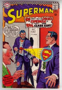 Superman #198 (Jul-67) FN Mid-Grade Superman, Jimmy Olsen,Lois Lane, Lana Lan...