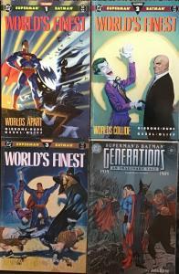 BATMAN/SUPERMAN DC WORLDS FINEST #1-3  COM. MINI GENERATIONS #3 ALL. F/NM