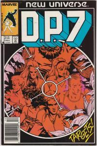 4 DP7 Marvel Comic Books # 1 2 3 5 New Universe Mark Gruenwald Paul Ryan EP1