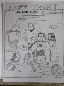 Star Trek TNG Fanzine Lot 3Diff Laff Wrath of Dijon Eridani Next Generation Gap