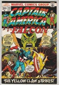 Captain America #165 (Sep-73) NM- High-Grade Captain America