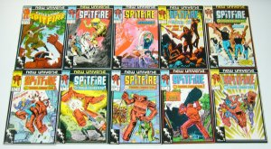 Spitfire and the Troubleshooters #1-13 VF/NM complete series marvel new universe