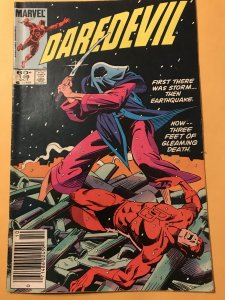 Daredevil #199 : Marvel 10/83 Fn; NEWSSTAND, Ninjas