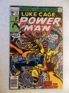 LUKE CAGE POWER MAN # 42 MARVEL BRONZE ACTION ADVENTURE GD/VG