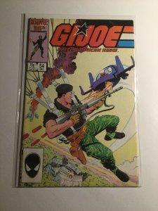 GI Joe 54 Very fine vf 8.0 Marvel