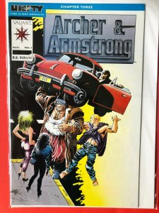 ARCHER & ARMSTRONG V1 #1 1990's VALIANT /  HIGH QUALITY