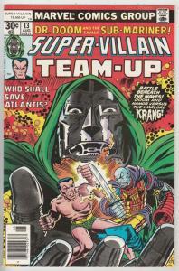 Super-Villian Team-Up #13 (Aug-77) NM/NM- High-Grade Namor the Sub-Mariner, D...