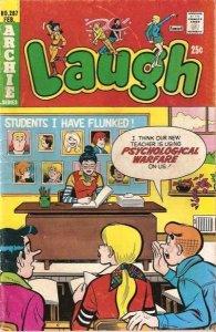 Laugh Comics #287, Fine- (Stock photo)