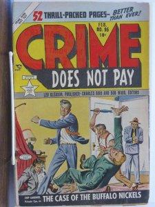 Crime Does Not Pay 95 vg  Fuji's Chip Gardner