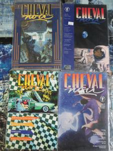 Cheval Noir Lot of 4 Issues #23 28 30 33 Dark Horse Sophisticated B&W Comics