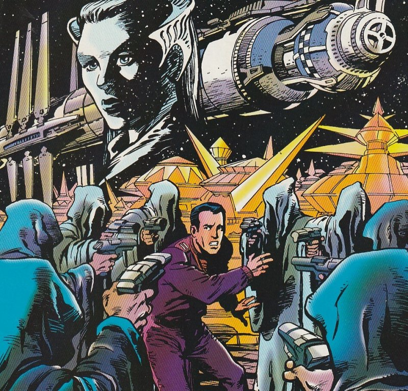 Babylon 5 # 1,2,3,4  Series based on the 90's Alternative to Star Trek