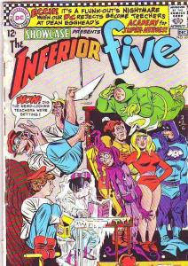 Showcase #65 (Dec-66) GD+ Affordable-Grade The Inferior Five (Merryman, the B...