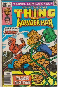 Marvel Two-In-One #78