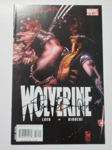 Wolverine (Marvel v3 2007) #52 Still VS Sabretooth! Signed by Simone Bianchi