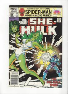 SHE HULK 1ST SERIES #23 VF