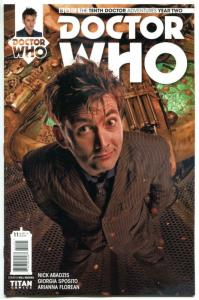 DOCTOR WHO #11 B, NM, 10th, Tardis, 2015, Titan, 1st, more DW in store, Sci-fi