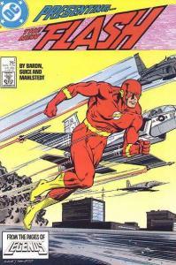 Flash (1987 series) #1, VF+ (Stock photo)