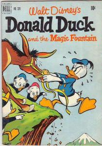 Four Color #339 (Jun-51) FN+ Mid-Grade Uncle Scrooge, Donald Duck, Huey, Dewe...