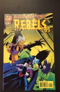 R.E.B.E.L.S. #9 (1995)