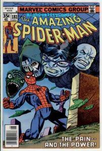 SPIDER-MAN #181, VF/NM, Origin retold, Life, Amazing, 1963, Punisher, Esposito