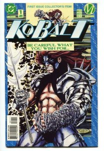 KOBALT #1 - 1993- DC First issue-comic book-Milestone