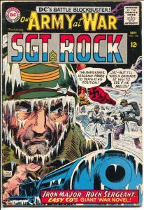Our Army at War #158 1965-DC-Booklength Sgt Rock-1st Iron Major-Joe Kubert-VG+