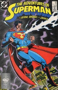 DC ADVENTURES OF SUPERMAN (1987 Series) #440 VF/NM