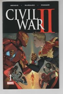 CIVIL WAR II (2016 MARVEL) #1