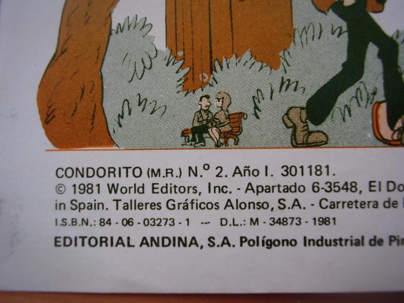 Condorito Comic Numero 2 Espana 1981