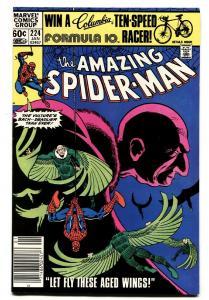 AMAZING SPIDER-MAN #224-comic book 1981-MARVEL