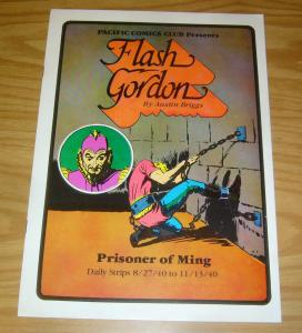 Pacific Comics Club: Flash Gordon #2 VF prisoner of ming - daily strips - 1981