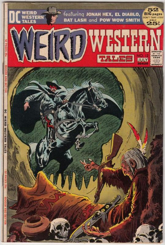Weird Western Tales #12 (Jul-72) VF/NM High-Grade Jonah Hex