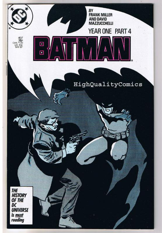 BATMAN #407, VF/NM, Frank Miller, Year One, Mazzucchelli, more BM in store