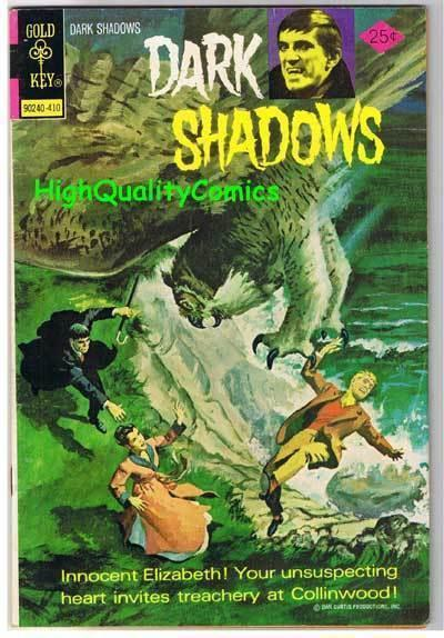 DARK SHADOWS #28, FN+, Barnabas, Vampire,Gold Key,1969, more Horror in store