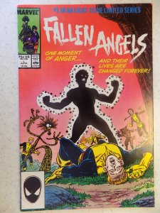 FALLEN ANGELS # 1 MARVEL NEW MUTANTS