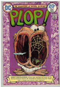 PLOP 4 VERY GOOD-FINE March-April 1974 COMICS BOOK