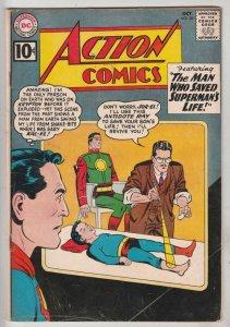 Action Comics #281 (Oct-61) FN/VF+ Mid-Grade Superman
