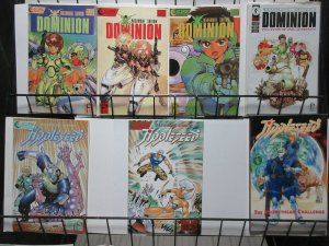 Masamune Shirow Manga Lot of 7Diff Dominion Tank Police + Appleseed