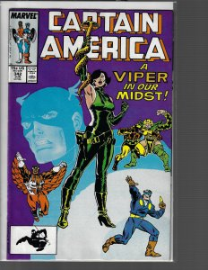 Captain America #342 (Marvel, 1988) VF+