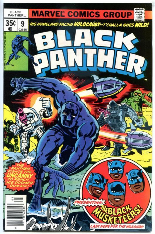 BLACK PANTHER #1 VF, 2 3 4 5 6 7 8 9 10 11 12, NM- to VF/NM, 1977, 1-12 set