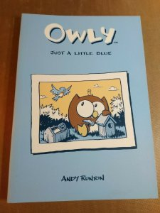 Owly Vol 2: Just a Little Blue by Andy Runton (2005, Trade Paperback)