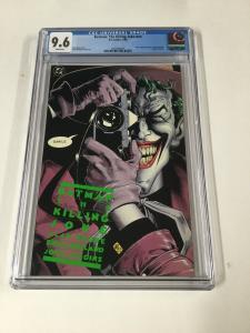 Batman The Killing Joke 1 NN Cgc 9.6 1st First Print Dc Comics