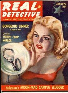 Real Detective Magazine January 1940- LOUIS LEPKE BUCHHALTER